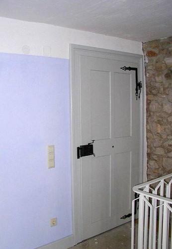 restaurierte und wieder eingebaute historische zimmert r. Black Bedroom Furniture Sets. Home Design Ideas