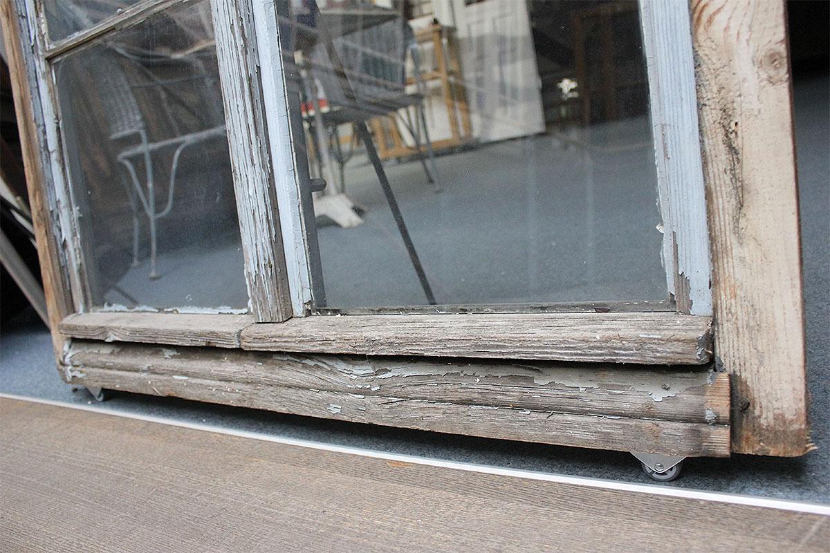 grau gestrichenes fenster ein angebot aus der rubrik kleine sprossenfenster von florian. Black Bedroom Furniture Sets. Home Design Ideas
