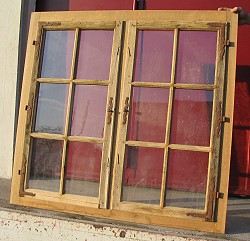 Holzsprossenfenster