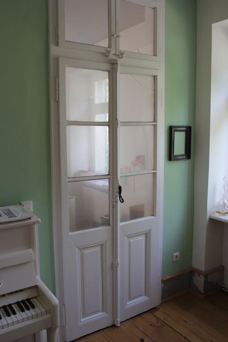Glastür mit Oberlicht um 1900   Ein Angebot aus der Rubrik »« von ...